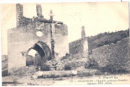 OLLIOULES Chapelle Gothique Voyagé TTB - Ollioules