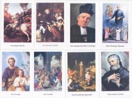 HOLY CARD, SANTINO MODERN0 - LOTTO DI 8 SANTINI MODERNI NUOVI - Devotieprenten