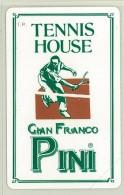 Carte Telefoniche: Tennis House Gian Franco Pini   - Nuova - Omaggio  - Man - Mantegazza - Italie