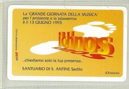 Carte Telefoniche: Ich' Nos - La Grande Giornata Della Musica  - Nuova - Omaggio  - T - Polaroid - Italie