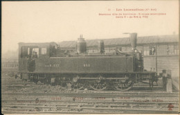Locomotives (Cie Est) Machine Dite De Banlieue 653 - Trains