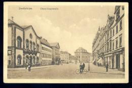 Cpa Allemagne Zweibruecken - Obere Hauptstrasse  ...  Zweibrücken JA15 37 - Zweibruecken