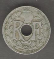 FRANCIA 5 CENTIMES 1925 - Francia