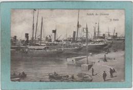 SALUTI  DA  LIVORNO  -  IL  PORTO -  1933 -  CARTE  ANIMEE  - - Livorno