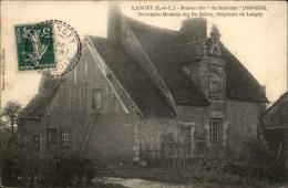 28 - LANGEY - Maison De Rabelais - France