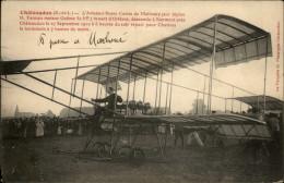 28 - CHATEAUDUN - Aviateur Russe MALINSKY - Avion Biplan Farman - Chateaudun