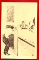 SEX WOMAN AND MEN VINTAGE POSTCARD W1568 - Vintage Romance < 1960