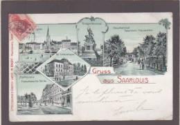 Gruss Aus Saarlouis - Cachet Strasbourg 1905 - - Strasbourg