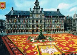 Antwerpen  Grote Markt Met Bloementapijt - Antwerpen