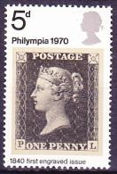 Großbritannien Great Britain Grande-Bretagne - PHILYMPIA 1970 (MiNr: 555/7) - Postfrisch MNH - Unused Stamps