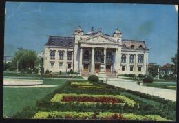 Iasi-National Theatre-Vasile Alecsandri Statue-used,good Shape - Monuments