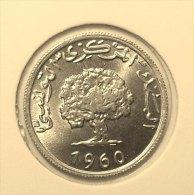 @Y@    Tunesië     1 Millim   1960   Unc  (2842) - Tunisie