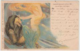 24658g ZODIAQUE - LE LION - PALAIS De L'OPTIQUE - EXPOSITION UNIVERSELLE PARIS 1900 - Illustrateurs & Photographes