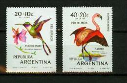 Argentina 1970.2V,birds,vogels,vögel,oiseaux,pajaros,uccelli,aves,MNH/Postfris(D2075) - Vogels