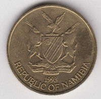 @Y@    Namibië     1 Dollar  1993    Unc  (2844) - Namibie