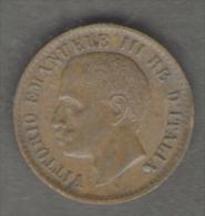 ITALIA 1 CENTESIMO 1905 VITTORIO EMANUELE III - 1861-1946 : Regno