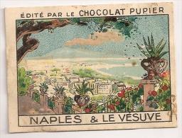 """Image Page 9 De L´album """"L´Europe"""". 1933. Chocolat Pupier. Italie Naples Et Le Vésuve - Other"""