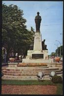 Iasi-Mihai Eminescu Statue-beside Central Library-unused,perfect Shape - Monuments