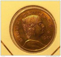 @Y@    Mexico   5 Centimes   1966    Unc  (2845) - Mexique