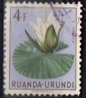 PIA - RUANDA  - 1953 : Fiori - (Yv 190) - Ruanda