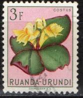 PIA - RUANDA  - 1953 : Fiori - (Yv 189) - Ruanda