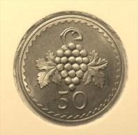 @Y@    Cyprus   50  Mills    1963    Proof  (2847) - Chypre