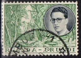 PIA - RUANDA  - 1955 : Re  Baldovino- (Yv 197) - Ruanda