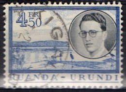 PIA - RUANDA  - 1955 : Re  Baldovino- (Yv 198) - Ruanda