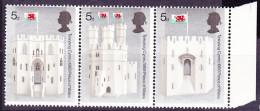 Großbritannien Great Britain Grande-Bretagne - Prinz Von Wales (MiNr.522/6) 1969  - Postfrisch MNH - Unused Stamps