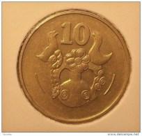 @Y@    Cyprus   10  Cent     1983    Unc  (2852) - Chypre