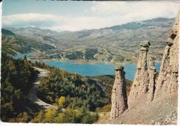 Francia--Gap--1964-Les Cheminees Des Fees Du Sauze Et Les Montagnes De Gap--a, Mazamet, Francia - Gap