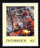 ÖSTERREICH 2014 ** Fische Makrelen - PM Personalized Stamp MNH - Ernährung