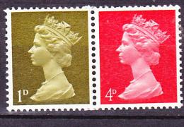 Großbritannien Great Britain Grande-Bretagne - Elisabeth II (Mi.Nr. W 13) 1968  - Postfrisch MNH - Unused Stamps