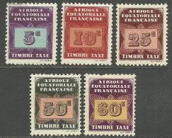 FRANKREICH Guyane Francaise Tax Postage Due * - Ungebraucht