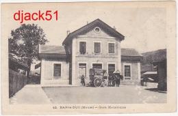 55 - BAR-le-DUC - (Meuse) - Gare Meusienne - 1918 / 2 Scans - Bar Le Duc