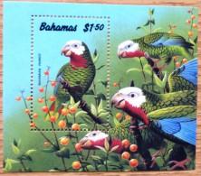 Bahamas Stamp Miniature Sheet MNH $1.50 Parrot No WM-631 - Bahamas (1973-...)