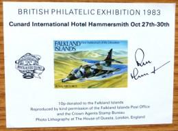 1983 Falkland Islands MNH Miniature Stamp Sheet - Islas Malvinas