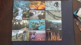 Switzerland-MULTICARDS-(set 6)-(lot 12cards)-used Card+4cards Prepiad Free - Switzerland