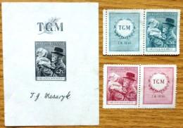 Selection Of Mint Stamps From Czechoslovakia  No WM-637 - Tchécoslovaquie