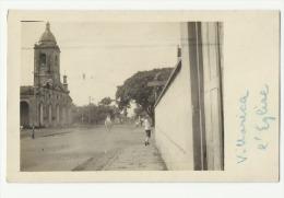 2467 PARAGUAY VILLARRICA GUAIRA VIEW CHURCH IGLESIA POSTAL POSTCARD - Paraguay