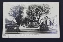 Old Real Photo Postcard From Argentina - Monumento Fray Luis Beltrán - Ciudad De Mendoza. - Argentina