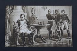 Old Postcard Napoleon - L´Abdication à St. Fontainebleau - Historia