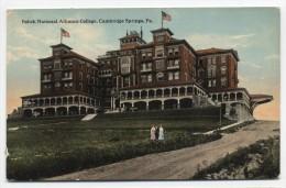 PA ~ Polish National Alliance College CAMBRIDGE SPRINGS Pennsylvania C1910 - United States