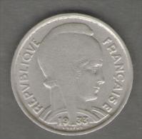 FRANCIA 5 FRANCS 1933 - J. 5 Franchi