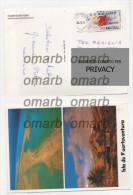 Car1158 Fuerteventura Isole Canarie Veduta Aerea Spiaggia Mare Variable Value Stamp FRAMA Meccanica ATM Espana - Vignettes ATM - Frama