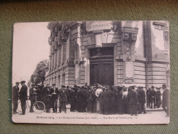 CPA ORLEANS 1914 La Banque De France Belle Animation     Voir Verso - Orleans