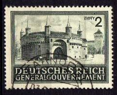 Generalgouvernement Mi 113, Gestempelt [180215XI] - Besetzungen 1938-45