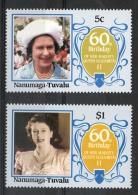 Tuvalu Nanumaga 1986 - Regina Elisabetta II Queen Elizabeth II MNH ** - Tuvalu