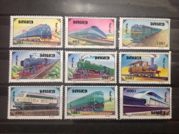 Mongolië / Mongolia - MNH/Postfris - Complete Series Spoorwegen 1997 - Mongolië