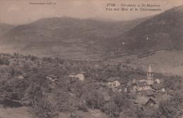 VEROSSAZ SOUS ST. MAURICE / VUE SUR BEX ET LE CHAMOSSAIRE - VS Wallis